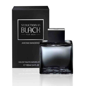 Perfume Antonio Banderas Seduction In Black Toilette 100ml
