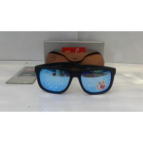8659653a90865 Oculos Lente Azul De Sol Ray Ban Justin - Óculos no Mercado Livre Brasil