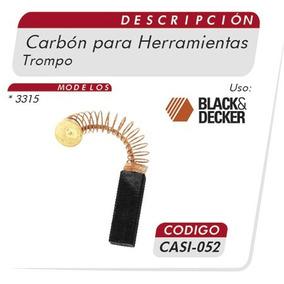 Carbones Trompo 3315 Black& Decker Casi 052