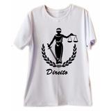 Blusas Masculinas Profissão Direito Curso T Shirts Camisa
