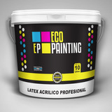 Latex Interior Exterior Eco Paintig X 20 Litros