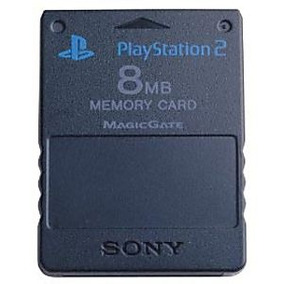 Memory Card Sony 8mb Memoria Ps2 Play Station 2 Garantizada