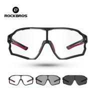 Óculos Sol Ciclismo Rockbros Original Uv400 Fotocromático Nf