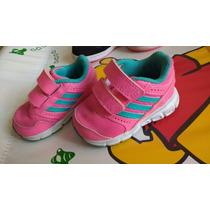 Zapatillas Adidas Rosa Fluor Talle 17 A 20 4,5k