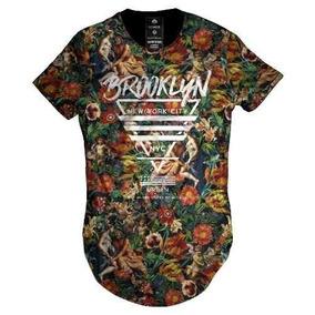 Camiseta Masculina Longline Adao E Eva Criacao Top Religiao d4aa3276a7b