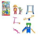Brinquedo Brincando No Parque Crianças Zein Encartelado