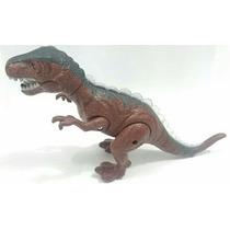 Dinossauro Dino Valley Anda Faz Som E Luzes 38cm