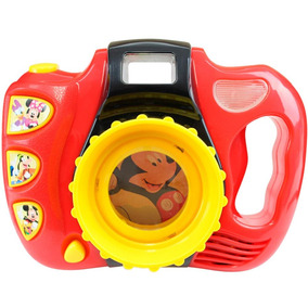 Maquina Fotográfica Disney Casa Mickey Mouse Dican