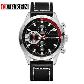 Reloj Hombre Curren Cuero+ Estuche De Regalo Envío Gratis