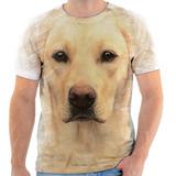 Camiseta Camisa Personalizada Cachorro Animal Labrador 7