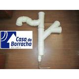 Kit Captação Agua Chuva Cisterna Separador+descarte+tela