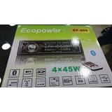 Stereo Ecopower Mp3 Pendrive Tarjeta Sd Super Oferta