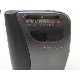 Antiguo Walkman Sony Radio Modelo Fx321