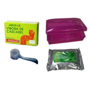 Jabón Vivora De Cascabel Antiacne + Set De Limpieza Facial