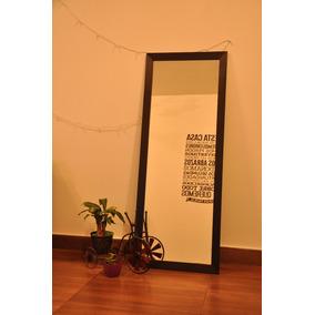 Espejo 180 X 80 Cm Con Marco De Madera 4,5 Cm.