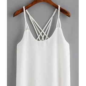Camisa Blusa Chifon Con Escote Casual Y Elegante