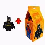 10 Caixinha Surpresa + 10 Boneco Lego Kit Festa Aniversário
