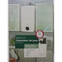 Boiler De Paso Gas Lp Bosch 13l Ecologico Bosch Balanz 13