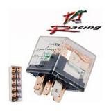 Relay Rele 5p 12v 80-100 Amp C/led Transparente Doble Accion