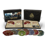 Blu-ray + Dvd - Harry Potter - Hogwarts Collection 31 Discos