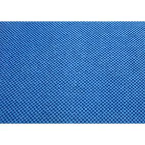 Tecido Navalhado Marcopolo Azul Claro Para De Ônibus E Vans