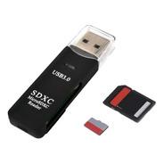 Leitor De Cartão Usb 3.0 Adaptador Micro Sd / Sdxc 5gbps