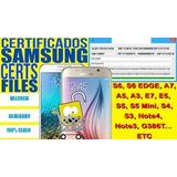 Certs, Certificados Samsung Clear