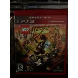 Lego Indiana Jones 2 The Adventure Continues Ps3