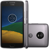 Motorola Moto G5 4g Dual 32gb Original + Brinde + Novo