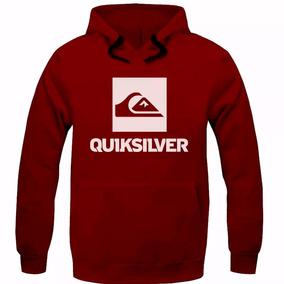 Blusa Moleton Quik Skate Surf Masculino E Feminino Silver