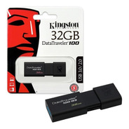 Pendrive Kingston 32gb Usb 3.1 / 3.0 / 2.0 Data Traveler Gtia Oficial Cuotas