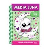 Agenda Media Luna 2018 (violeta) (con 160 Stickers) (ani