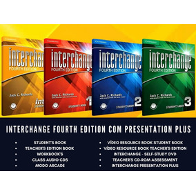 Interchange 4th Edition Completo + Presentation Plus