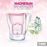 Jarra De Água Magnesium-mineral- Alcalina - Filtro 2,7 Lts