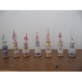 Lote De 7 Perfumeiros Egipcios Decorativos Arabe Oriental