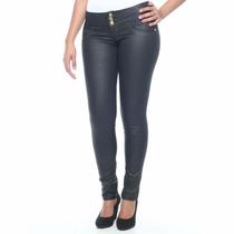 Calça Jeans Feminina Resinada Legging Sawary 234513