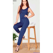 Palaxo S00128 Jumpsuit Mono Jogger Tallas Extras
