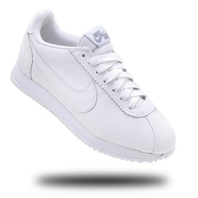 Tênis Nike Cortez Feminino Todo No Couro + F. Grátis