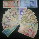 Vendo 20 Billetes Antiguos Circulado Y Unc Bs 185.999