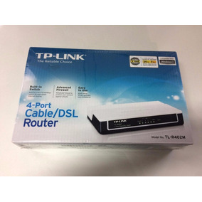 Switch Hub Roteador Tp-link Tl-r402m 4 Portas Rj45 10/100