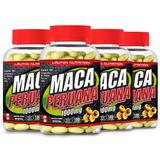 Combo 04 Potes Maca Peruana 1000mg 180 Frete Grátis Lauton