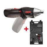 Atornillador Inalambrico Skil 4,8v + Maletin Bosch + 51 Acc