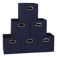 Cajas Almacenaiento Household Essentials Cubo Ropa Oficina 6