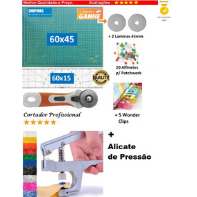 Base De Corte 60 +régua 60 +cortador+alicate Patchwork,scrap