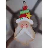 Promoção: Ornamento De Porta Cabeça De Papai Noel