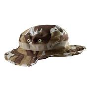 Chapéu Bonnie Hat Militar Pescador Camuflagem Marrom
