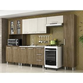 Cozinha Modulada Novo Tempo Andréia 11 Portas E 3 Gavetas -