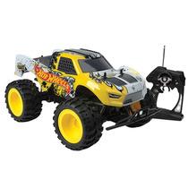 Hot Wheels - Caminhão Controle Remoto Monster Truck Candide