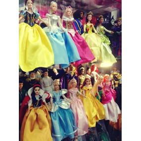 Bonecas Disney Princesas E Príncipes - Pronta Entrega - Novo