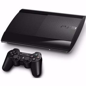 Playstation 3 Video Game Ps3 Slim 500gb 65 Jogos Original